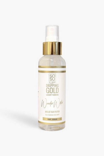 Clear SOSU Dripping Gold Tanning Water - Medium