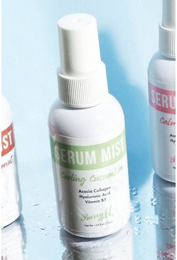 Groen green Barry M Cooling Cucumber Serum Mist