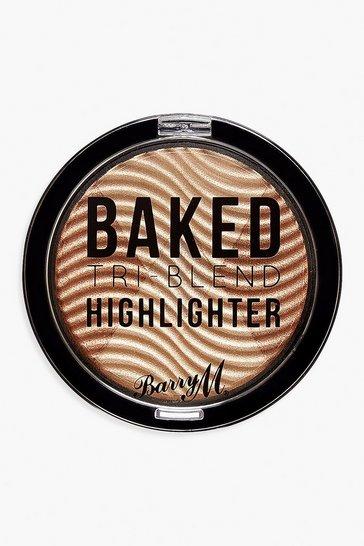 Gold metallic Barry M Bronze Baked Highlighter