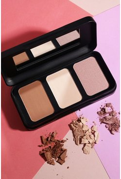 Barry M Feel Cheeky Sculpting-Palette, Braun