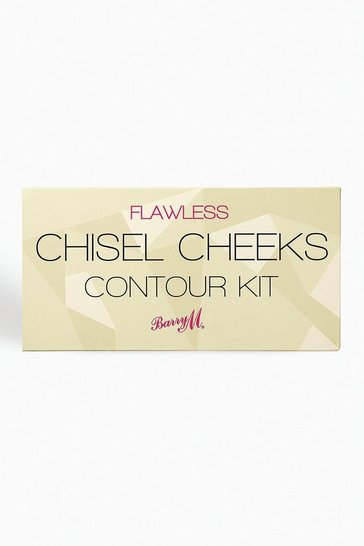 Brown Barry M Chisel Cheek Contour Kit Light Medium