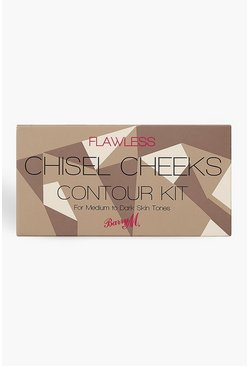 Brown Barry M Chisel Cheeks Contour Kit Medium Dark