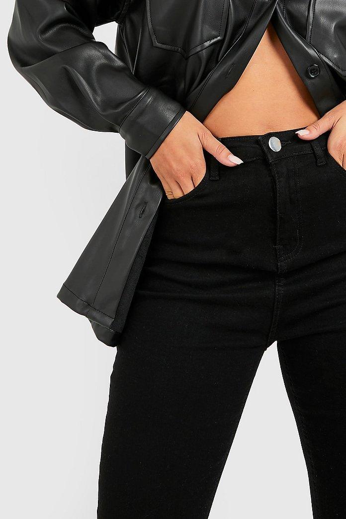 jeans hög midja