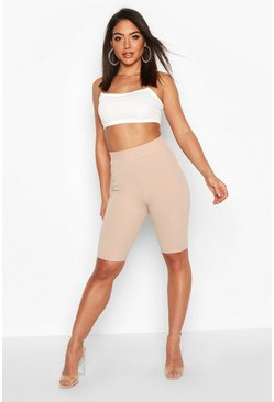 Stone beige Contoured Cycling shorts