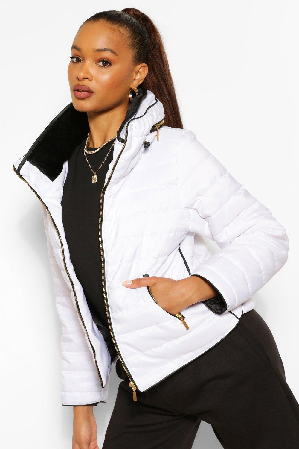 COATS & JACKETS Fitted Quilted Jacket