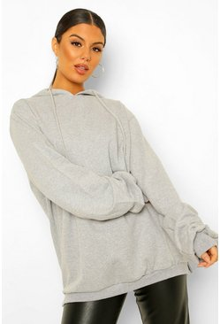 Light grey grey Extreme Oversized Hoodie