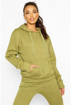 Olive Oversize hoodie