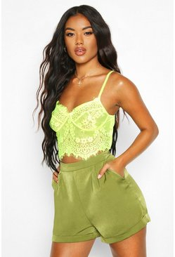 Forest green Tailored Short
