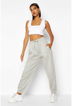 Grijs grey Oversized joggingbroek