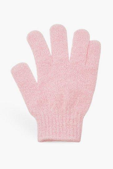 Pink Boohoo Exfoliating Tan Remover Mitt