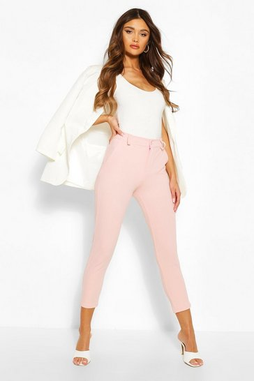 Blush pink Tailored Tapered Trouser