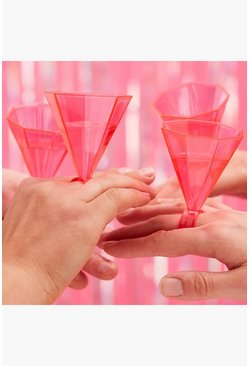 Pink Ginger Ray Bride Tribe Ring Shot Glass 6 Pack