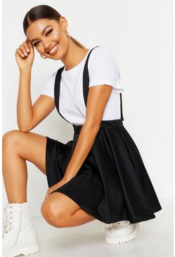Black Pinafore Skirt