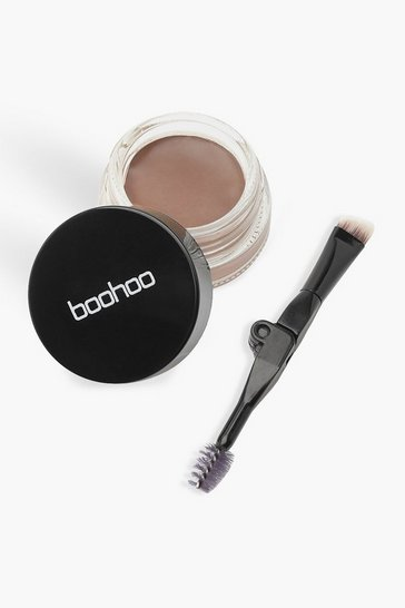 Brown Boohoo Eyebrow Cream - Dark