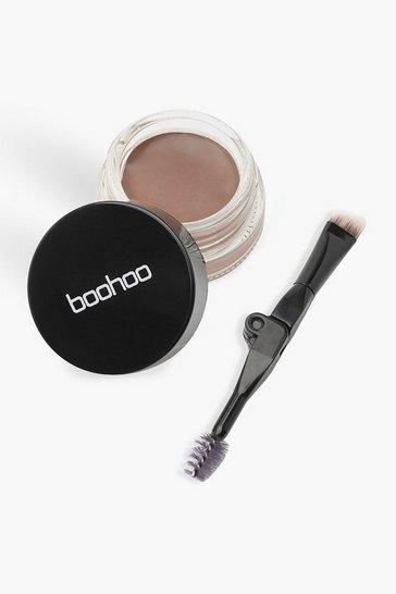 Brown Boohoo Eyebrow Cream - Dark