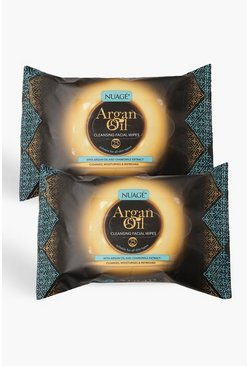 Multi Nuage Argan Oil Cleansing Wipes Twin Pack