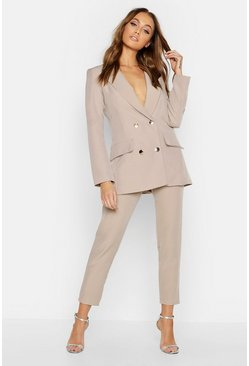 Military Blazer & Trouser Suit Set