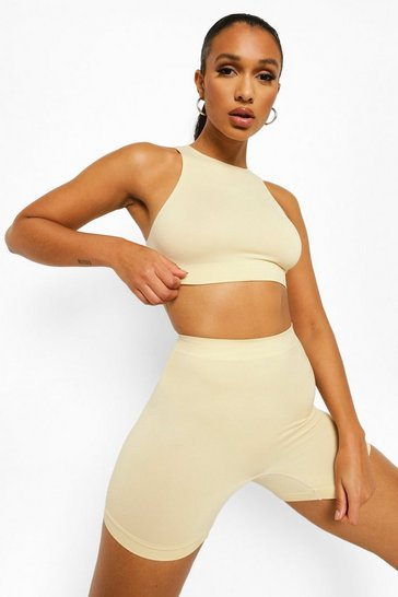 Nude Second Skin Brushed Control Short