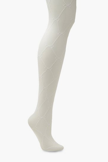 White Infinity Tights