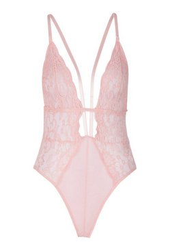 Blush Plunge Strapping Body