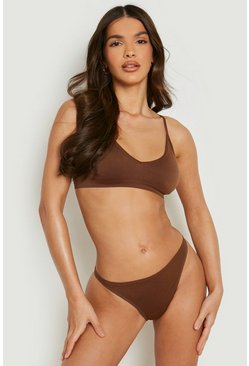 Multi 3 Pack Seamfree Triangle Bralette