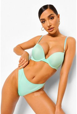 Mint green Pastel Super Push Up Bra