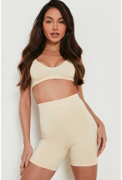 Nude 2 Pack High Waist Control Short