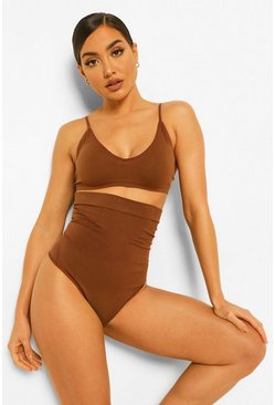 String taille haute, Chestnut marron