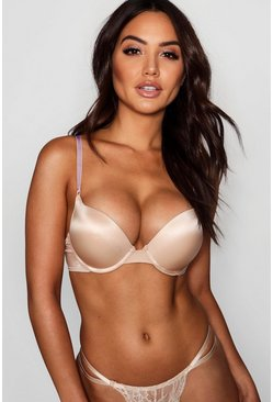 Soutien-gorge super push-up, Couleur chair nude