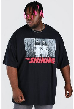 Black Plus Size The Shining Licensed T-Shirt