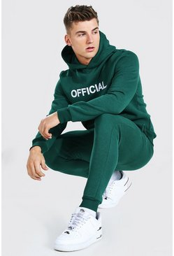 Forest Official Embroidered Hooded Tracksuit