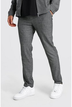 Charcoal Skinny Check Smart Coord Trouser