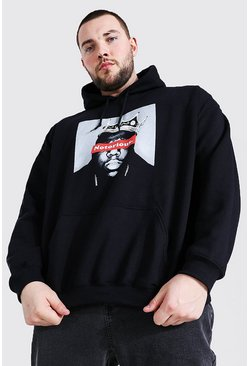 Black Plus Size Notorious Big License Hoodie