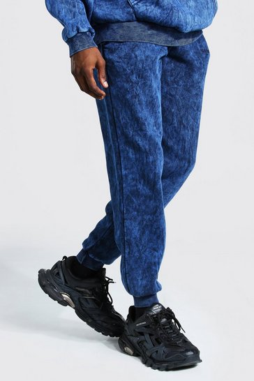 Navy Official MAN Regular Fit Overdyed Jogger