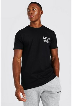 Black Original Man Established Logo T-Shirt