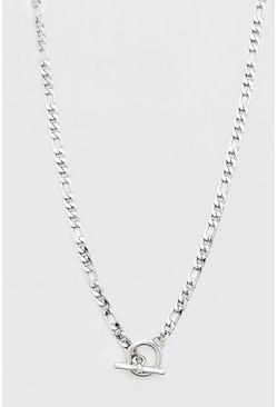 Silver T-Bar Chunky Chain