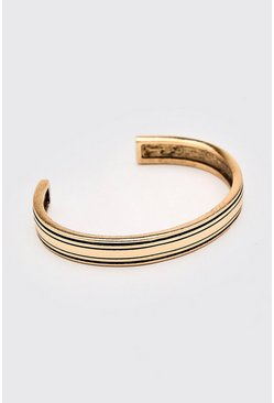 Gold metallic Chunky Bangle