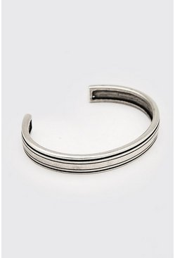 Silver Chunky Bangle