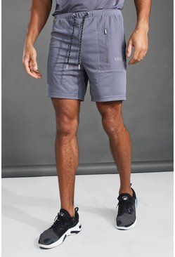 Charcoal grey MAN Active Contrast Pocket Short