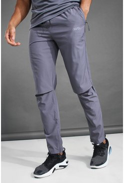 Charcoal grey MAN Active Tapered Fit Jogger