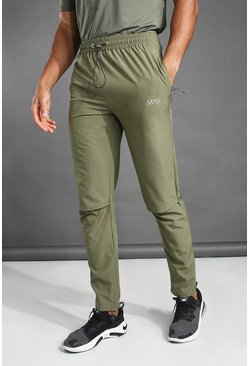 MAN Active Tapered-Fit Jogginghose, Khaki khakifarben
