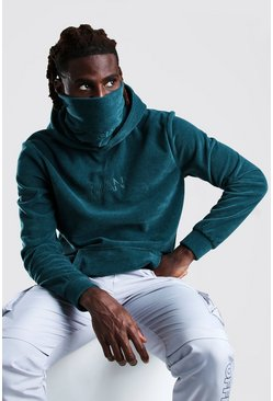Teal MAN Official Snood In Polar Fleece