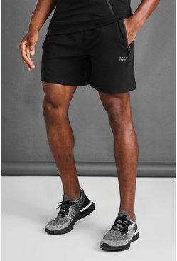 Black MAN Active Gym Short