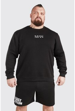 Sweat imprimé - MAN Active X Beast, Black noir