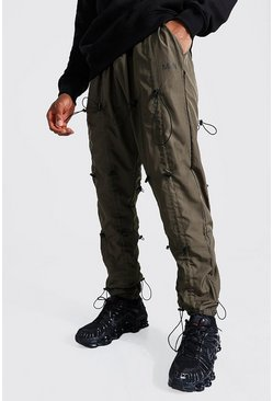 Khaki Original MAN All Over Toggle Shell Trousers