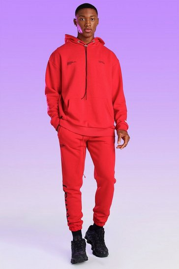 Red Official Artist Print Jogger