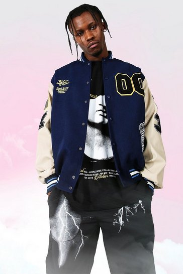 Navy Official 00 Varsity Bomber