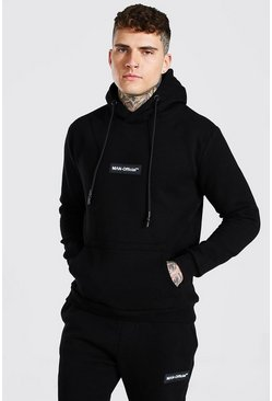 Black Man Official Hooded Tracksuit With Tab