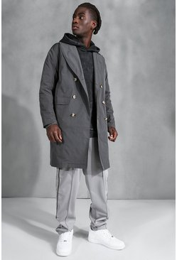 Charcoal grey Classic Relaxed Mac