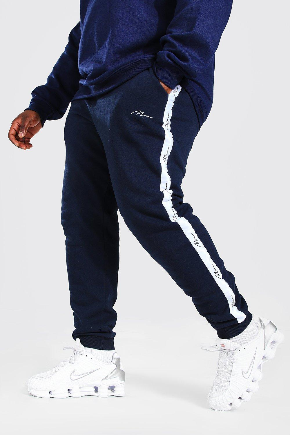 Big & Tall Sale Plus Size MAN Skinny Jogger With Pintuck